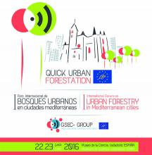 I Foro Internacional de Bosques Urbanos (Urban Forestry) en ciudades mediterráneas